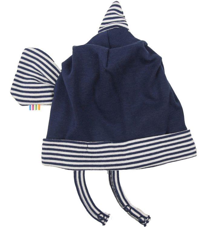 Image of Joha Fiske Hat - Marineblå/Hvid Stribet (ØA402)
