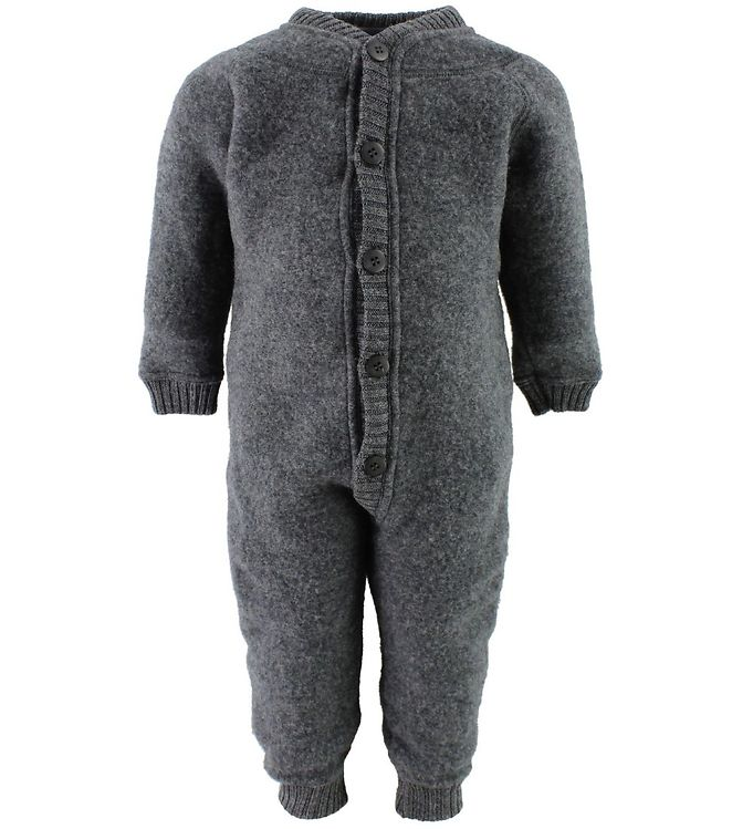 d008424400d Joha Køredragt - Babyuld - Koksgrå - Køb her med gratis fragt og ...