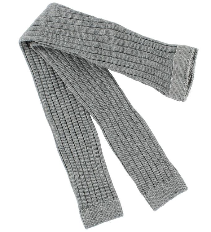 Image of Mp Rib leggings - Gråmeleret (ØC001)