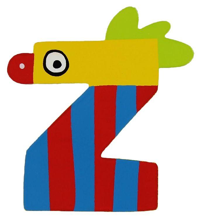 Image of Petit Jour Paris Crazy Bird Bogstav - Z - Gul (ØE172)