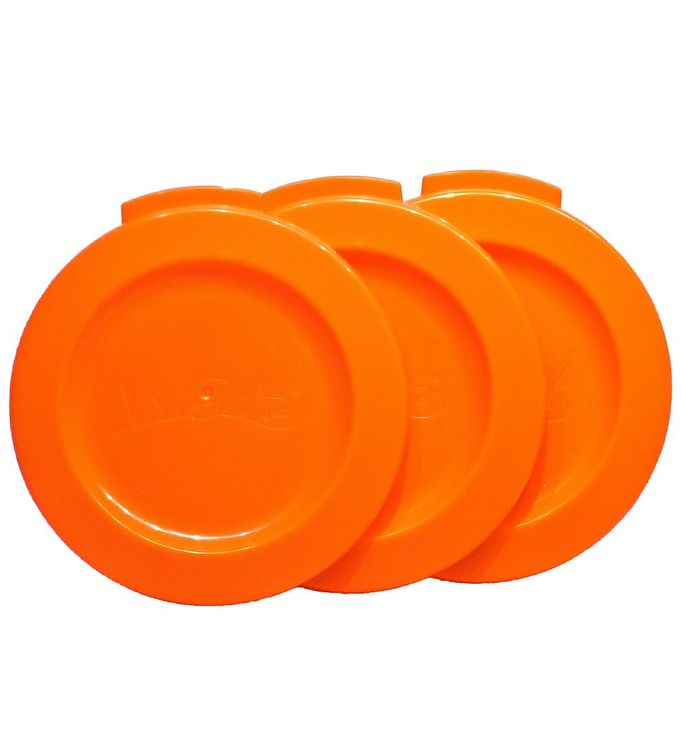 Billede af Wow Cup Låg 3-pak - Orange
