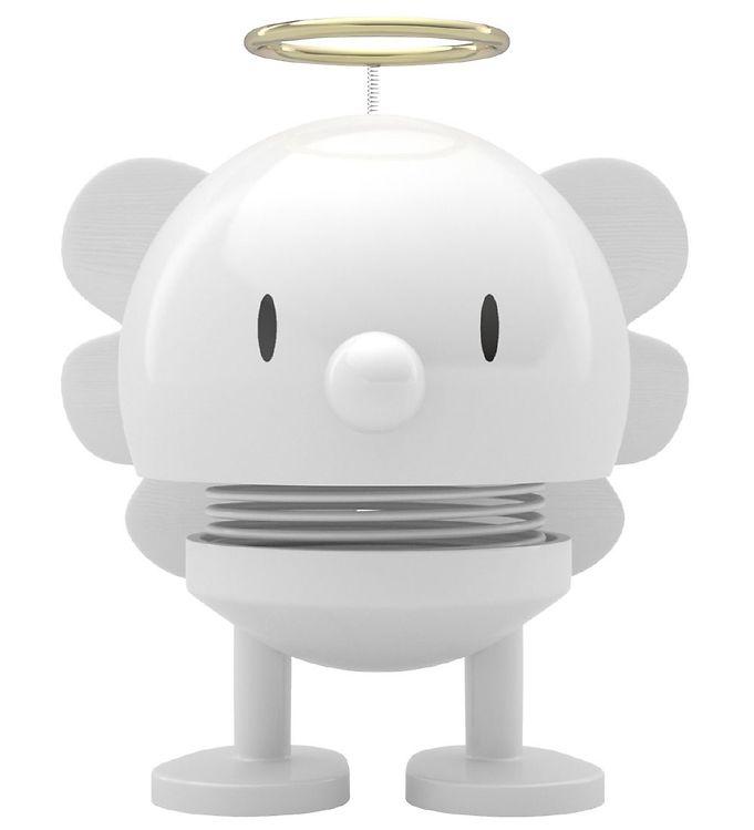 Hoptimist Angel Baby Bumble - 7 cm - Hvid