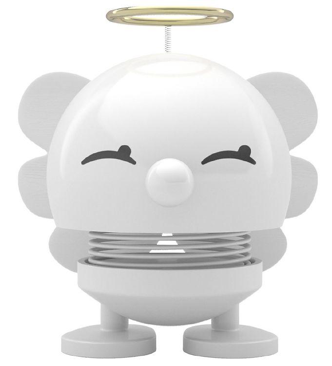 Image of Hoptimist Angel Baby Bimble - 7 cm - Hvid (ØF047)