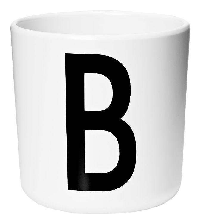Image of Design Letters Melamin Kop - Hvid m. B (ØF415)