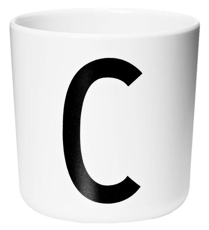 Image of Design Letters Melamin Kop - Hvid m. C (ØF416)