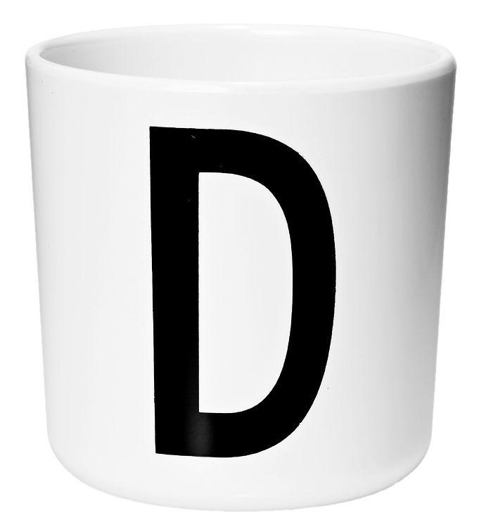 Image of Design Letters Melamin Kop - Hvid m. D (ØF417)