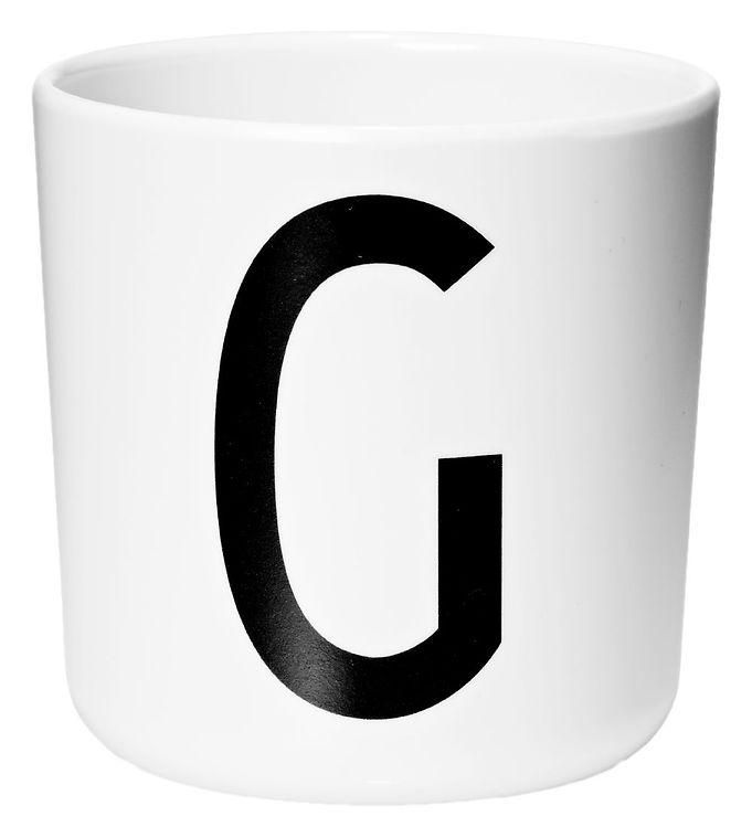 Image of Design Letters Melamin Kop - Hvid m. G (ØF420)