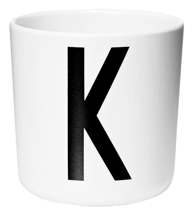 Image of Design Letters Melamin Kop - Hvid m. K (ØF424)