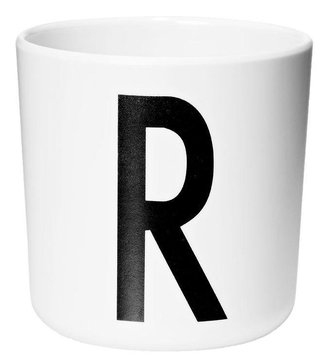 Image of Design Letters Melamin Kop - Hvid m. R (ØF431)