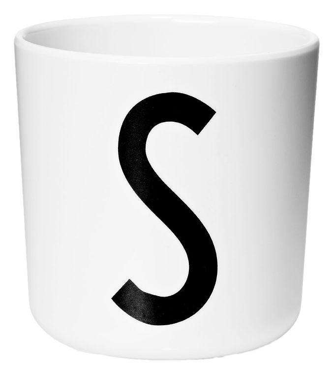 Image of Design Letters Melamin Kop - Hvid m. S (ØF432)