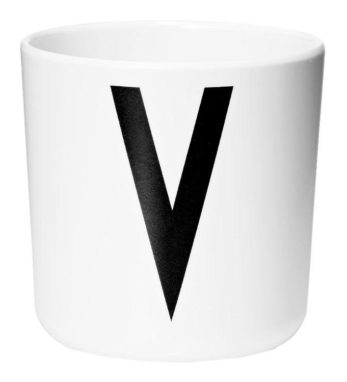 Image of Design Letters Melamin Kop - Hvid m. V (ØF435)