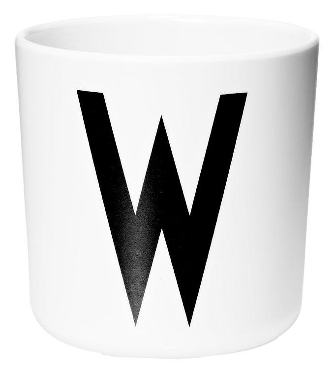 Image of Design Letters Melamin Kop - Hvid m. W (ØF436)