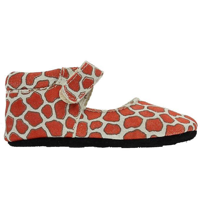 fuzzies-ballerina-hjemmesko-gry-girafprint