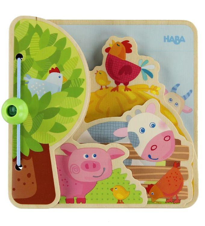 Billede af HABA Babybog - Bondegårdsdyr