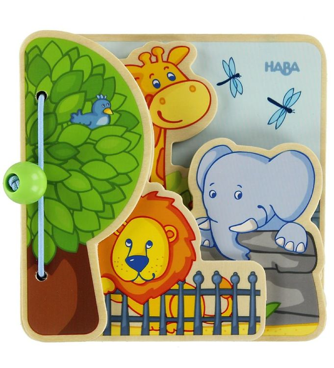 haba – Haba babybog - zoo dyr fra kids-world
