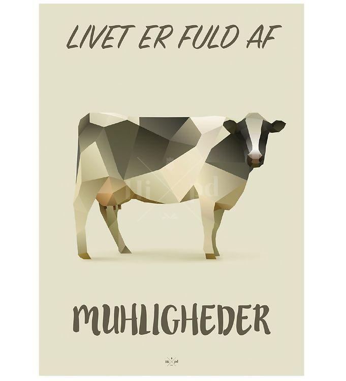 Billede af Hipd Plakat - A3 - Cow