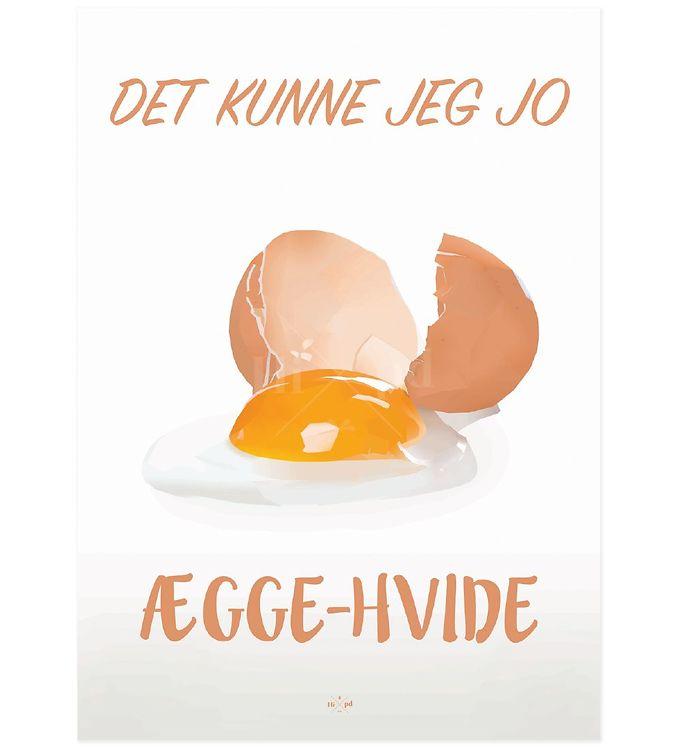 Image of Hipd Plakat - A3 - Æggehvide (ØG088)