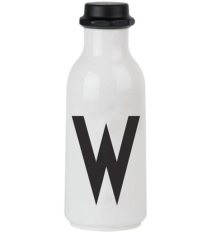 Image of Design Letters Drikkeflaske - 500 ml - Hvid m. W (ØG144)