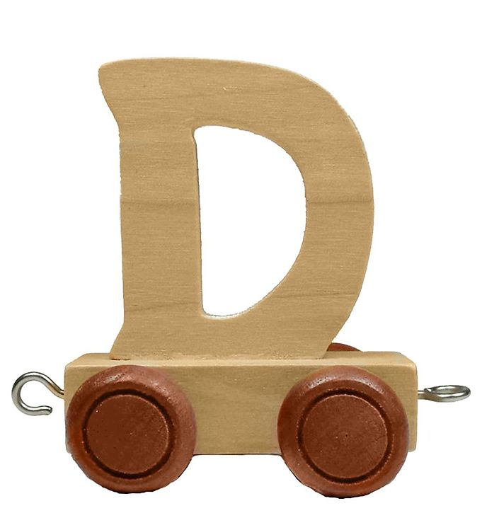 Billede af Bino Toys Navnetog - Træ - D