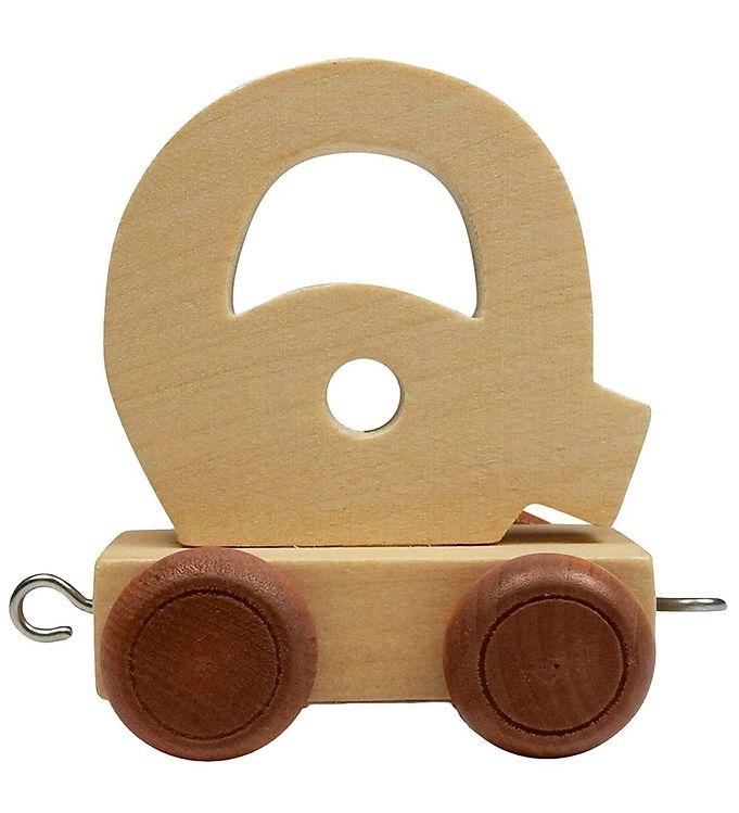 Image of Bino Toys Navnetog - Træ - Q (ØG187)