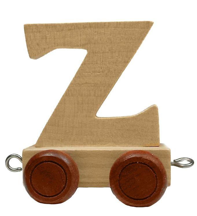 Image of Bino Toys Navnetog - Træ - Z (ØG196)