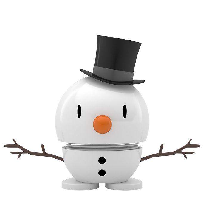 Image of Hoptimist Baby Bumble - 9 cm - Snowman - Hvid (ØG579)