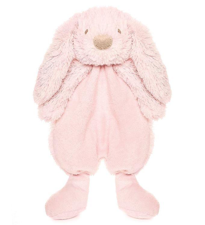 teddykompaniet – Teddykompaniet nusseklud - kanin - lyserød fra kids-world