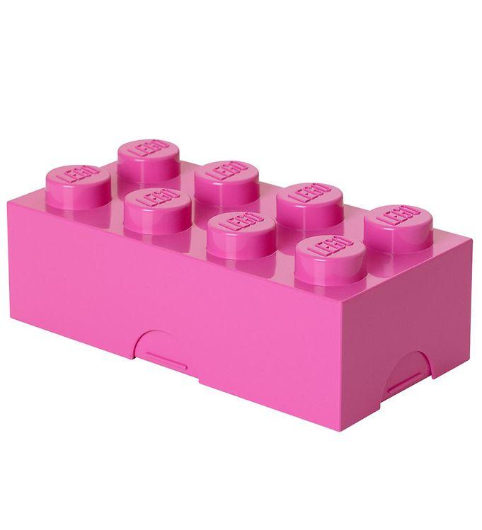 Billede af Lego Storage Madkasse - 8 Knopper - Pink