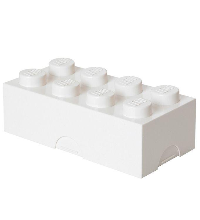Billede af Lego Storage Madkasse - 8 Knopper - Hvid