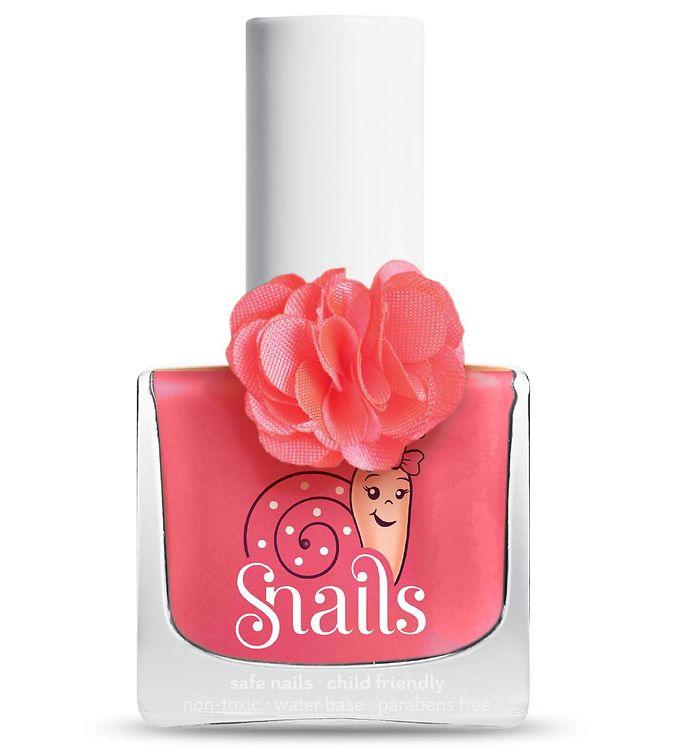 Snails Fleur Neglelak – Rose – Mørk Lyserød