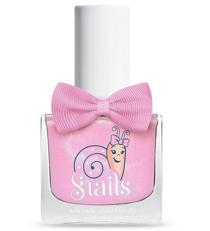 Snails Neglelak – Candy Floss – Lyserød m. Glimmer
