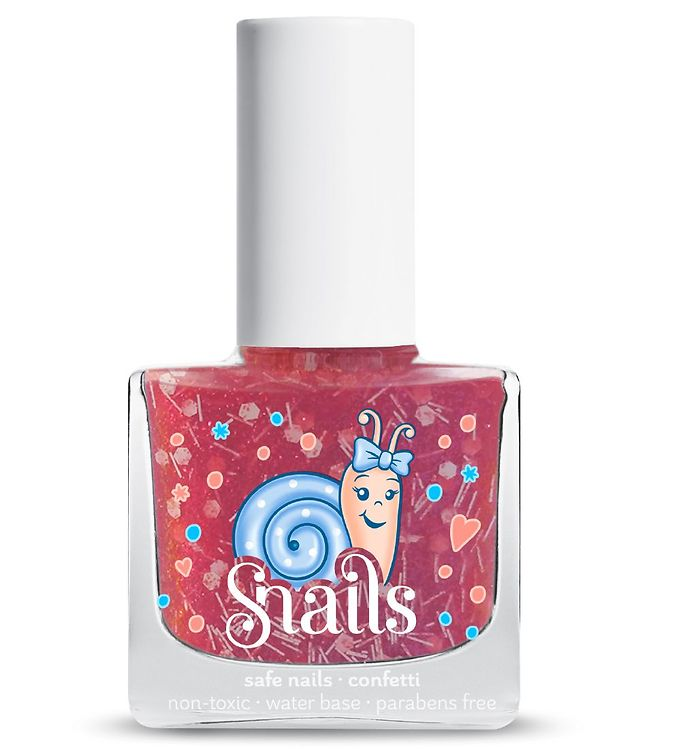 Image of   Snails Neglelak - Candy Cane - Pink Glimmer Mix