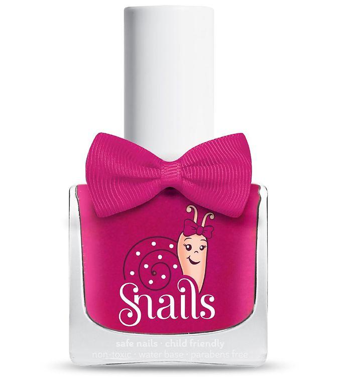 Snails Neglelak – Cheerleader – Mørk Pink m. Glimmer