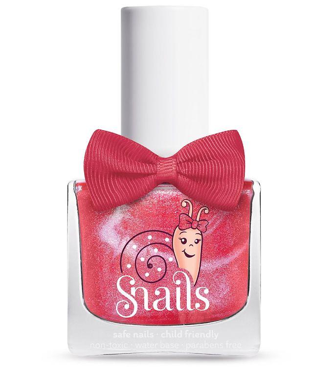 Snails Neglelak – Disco Girl – Pink m. Glitter