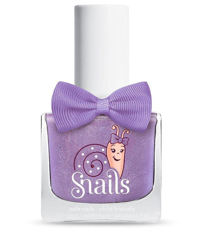 Snails Neglelak – Purple Comet – Lavendel m. Glitter