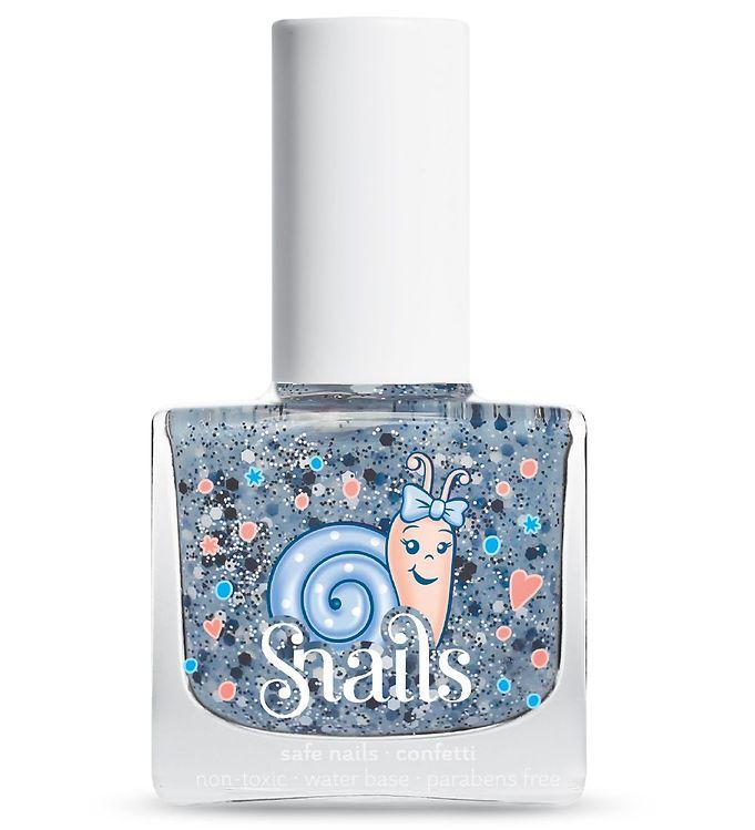 Snails Neglelak – Snails Confetti – Lyseblå Glimmer Mix