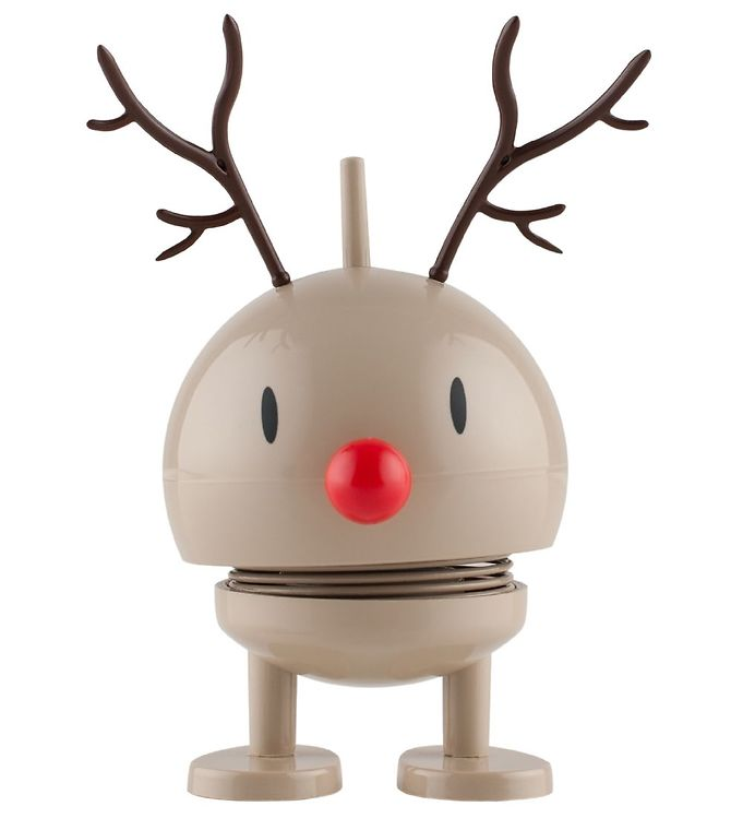 Image of Hoptimist Baby Bumble - Rudolf - 10 cm - Brun (ØG820)