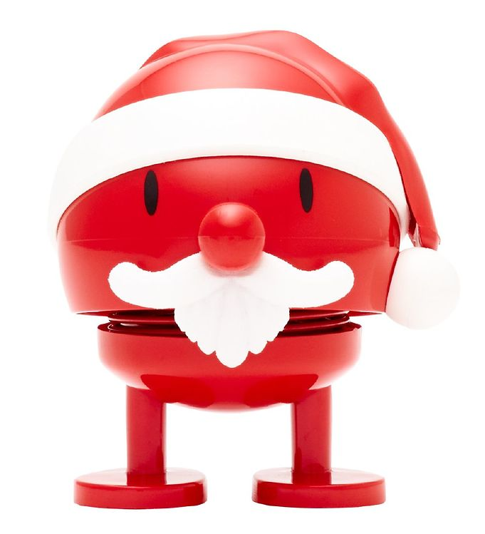 Hoptimist Baby Bumble - Julemand - 7 cm - Rød