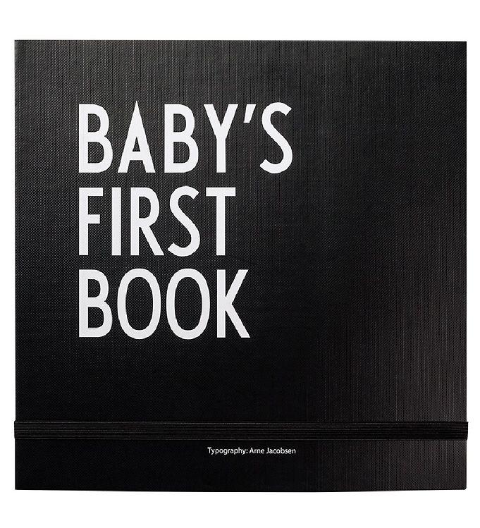 Billede af Design Letters Barnets Første Bog - Sort