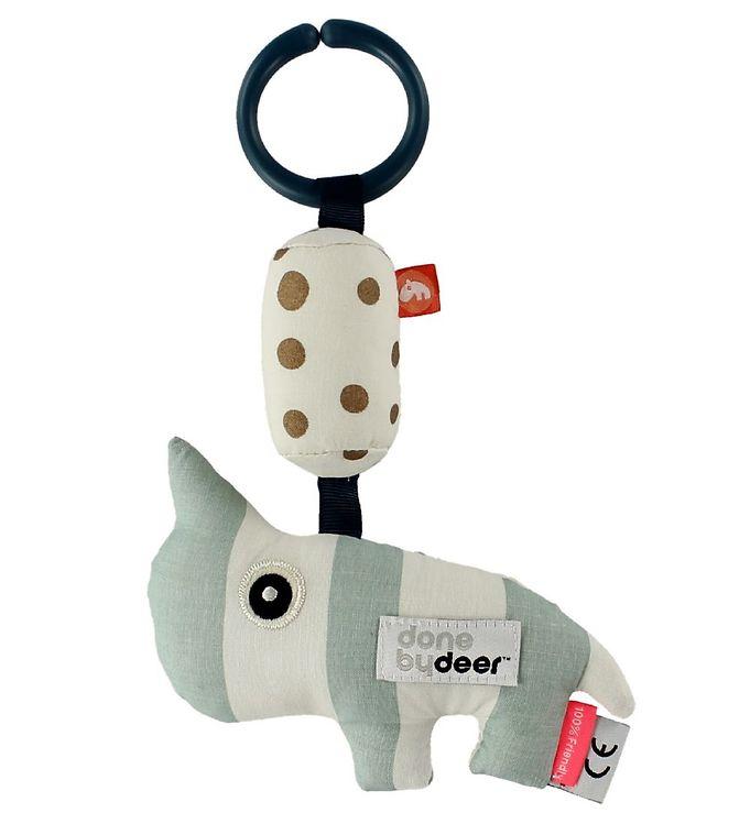 Image of Done By Deer Ophængningsdyr - Nozo - Mint/Hvid (ØH712)