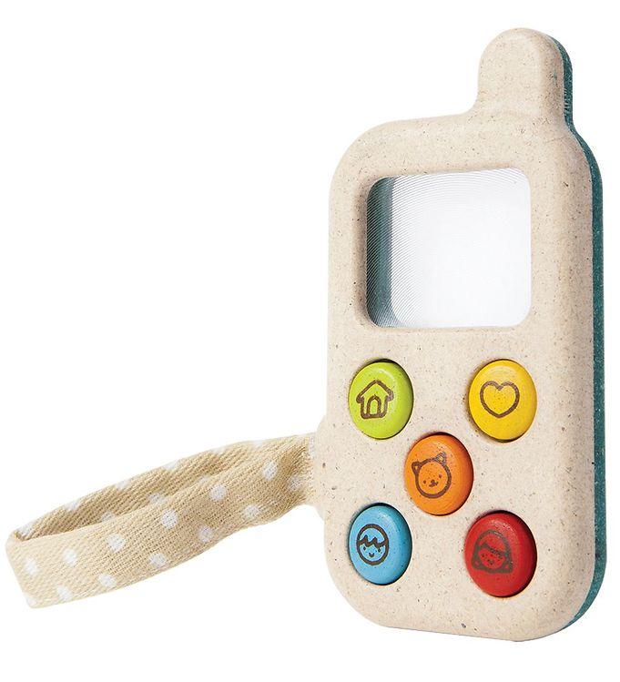PlanToys Telefon/Walkie Talkie - Multifarvet