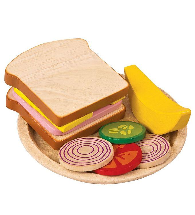 PlanToys Legemad – Sandwich