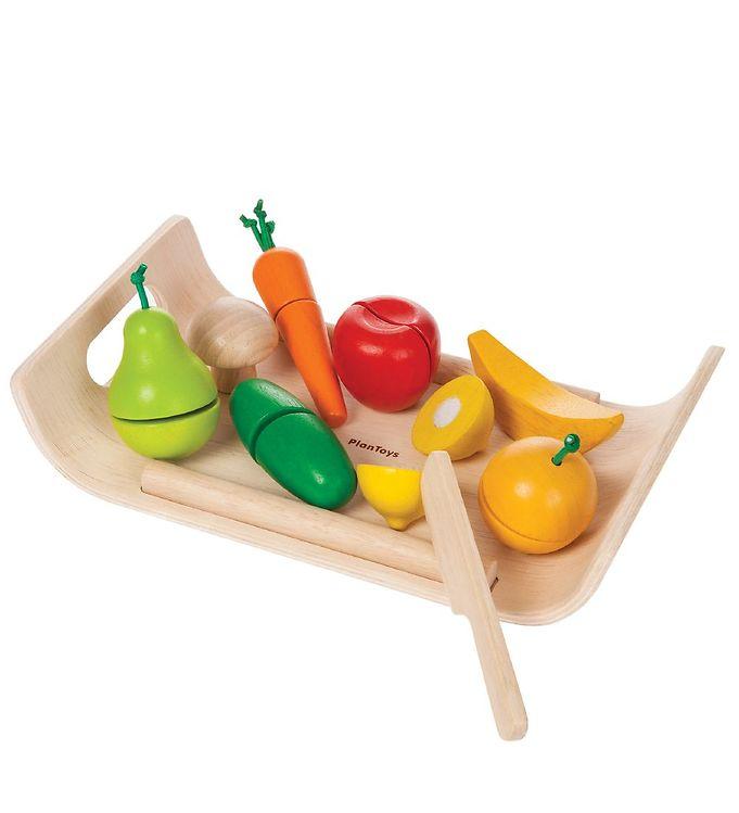 PlanToys Legemad - Frugt & Grønt - 13 - PlanToys,Adventsgaver til børn,Madlavning,PlanToys Legekøkken,PlanToys Legemad,PlanToys Trælegetøj - PlanToys