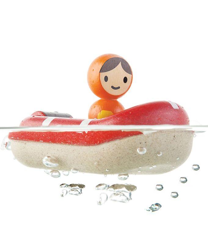 PlanToys Badelegetøj – Redningsbåd