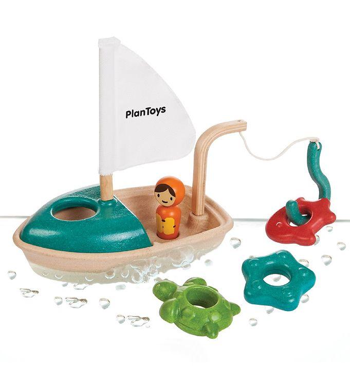 Billede af PlanToys Badelegetøj - Aktivitetsbåd