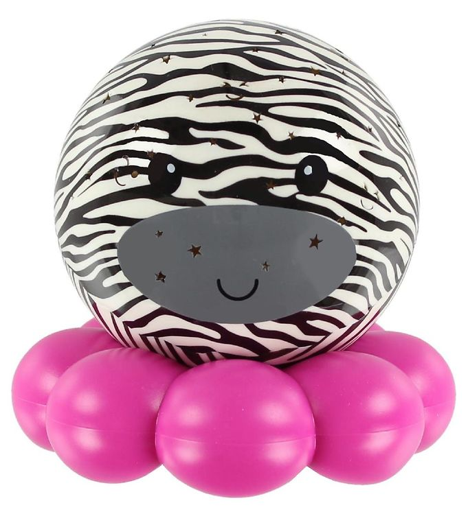 cloud-b Cloud-b natlampe - dream to go zoo friends - zebra på kids-world