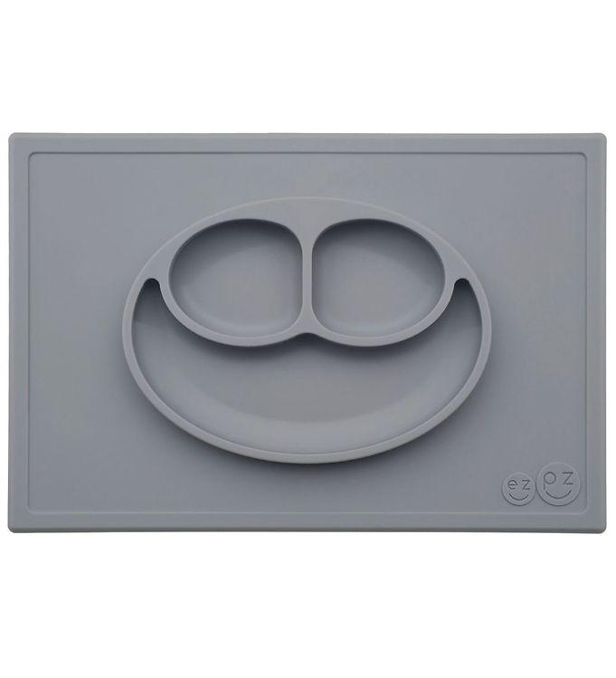 Billede af EzPz Happy Mat - Silikone - Mørkegrå