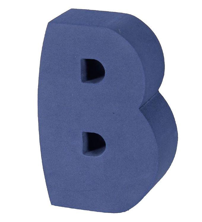 Billede af bObles Bogstav - B - Mørk Blå