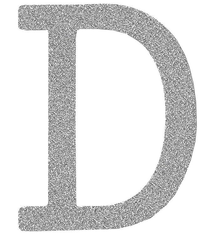 Image of Thats Mine Bogstav - D - Sølv Glimmer (ØJ361)