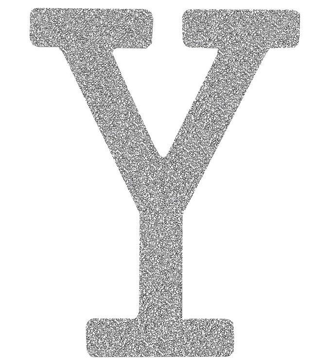 Image of Thats Mine Bogstav - Y - Sølv Glimmer (ØJ382)